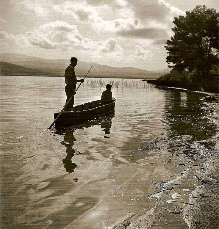 Ηλεία λίμνη Καϊάφα.1939-40 φωτ.Βούλα Παπαιωάννου