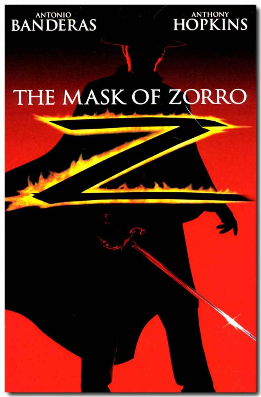 The Mask of Zorro with Antonio Banderas, Anthony Hopkins, Catherine Zeta-Jones, Matt Letscher, Stuart Wilson, Jose Maria de Tavira, Tony Amendora, Pedro Armendariz Jr, William Marquez and Victor Rivers