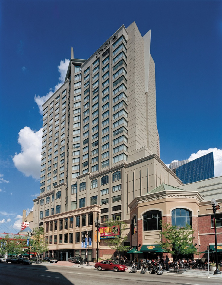 Graves 601 Hotel Is Across From The Target Center And Features An Infinity Bar Minneapolis