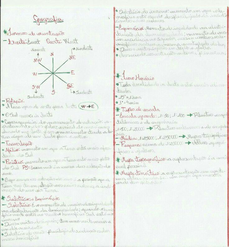 Geografia: formas de orientação, solstício e equinócio, fuso horário e tipos de escala. By: Jennifer