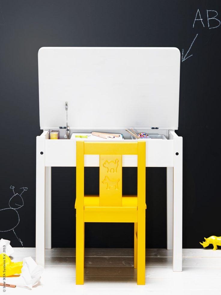 SUNDVIK skrivbord för barn