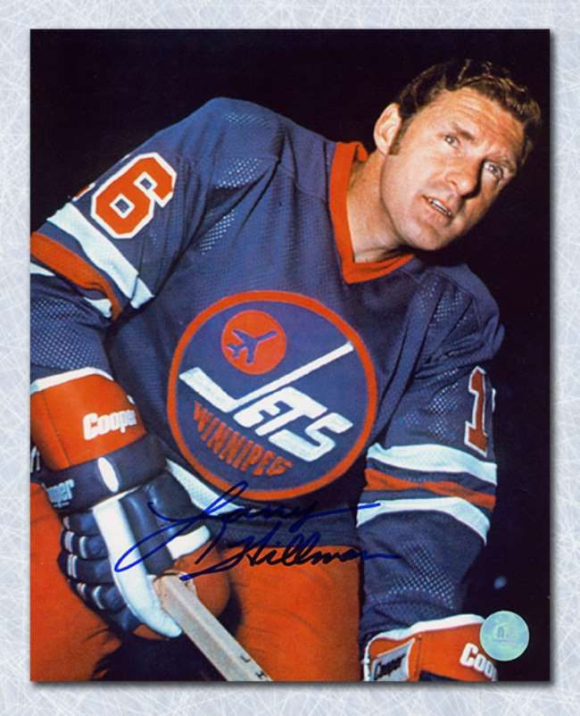Larry Hillman with the Winnipeg Jets.