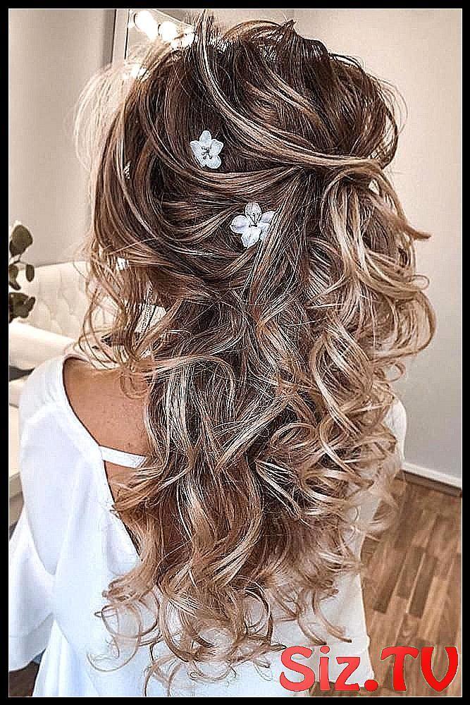 45 Sommer Hochzeit Frisuren Ideen 45 Sommer Weddi #Blonde #classpintag #curls #explore #Flowers