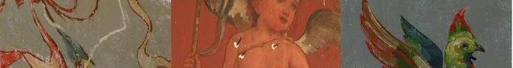 Schilderingen in de Spiegelzaal van Paushuize