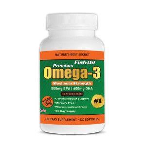 10 best safe and effective supplements images on pinterest for Omega 3 fish oil dosage