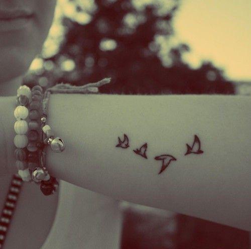 Hot bird tattoo for girls #tattoo www.loveitsomuch.com