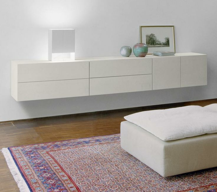 Wall-mounted Sideboard SB07 Shahnaz by e15 | dieter horn.  available in different sizes