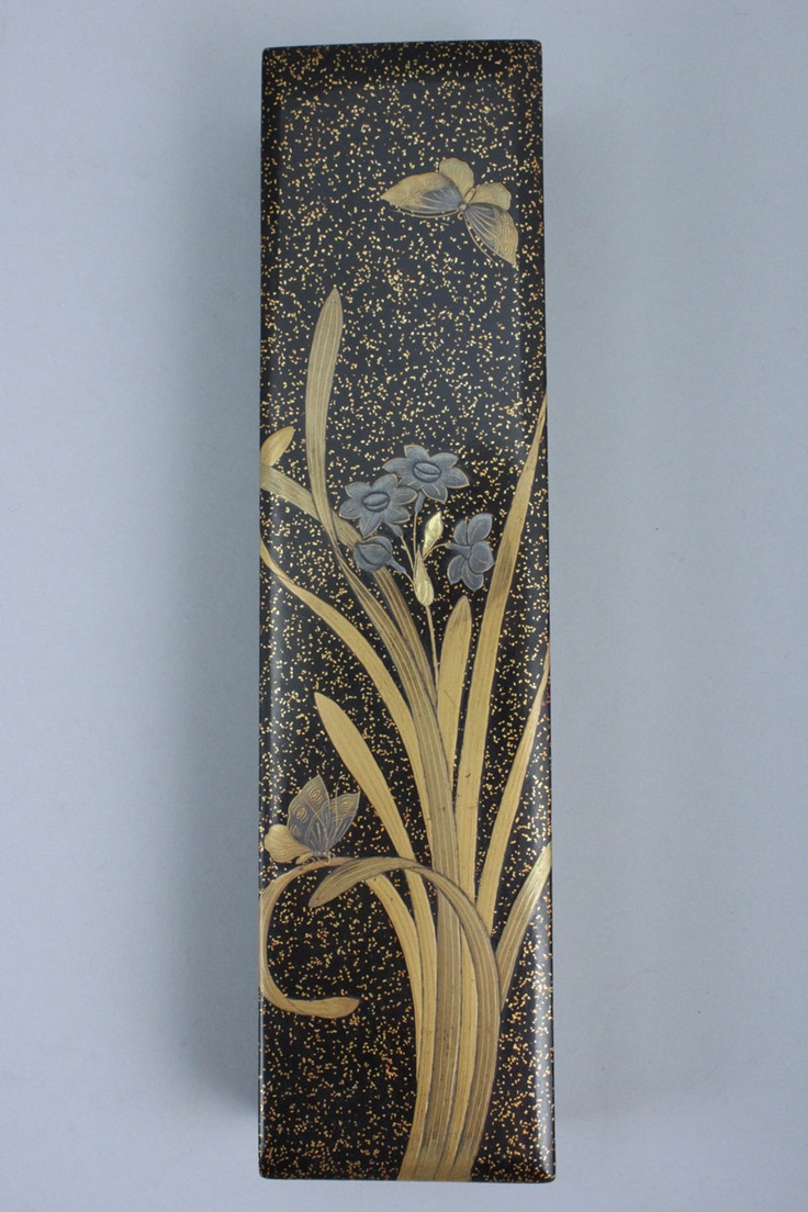 A Japanese nashiji ground lacquer box, late Meiji or Taisho period, circa 1900-20