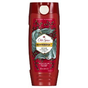 Old Spice Wild Collection Hawkridge Scent Body Wash 16 Fl Oz by Old Spice. $4.44. That?s because Wild has been crafted with natural ingredients in mind to leave you smelling and feeling great all over.. For Guys with Swift Minds.. When your body flesh is covered in Hawkridge Body Wash, there is nothing for women to do but smell the tingly freedom song of a raptor lullaby and accept that science cannot explain the feeling in their hearts.. Prepare to be kissed on the beak of...