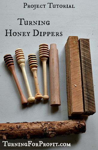 A Honey Dipper is a quick and easy product to have in your inventory. Easy to turn and beautiful to use.