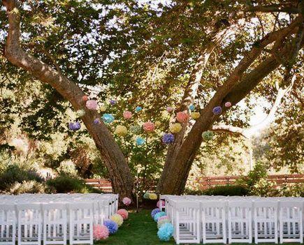 No que belleza :) Pompones para matrimonio TP