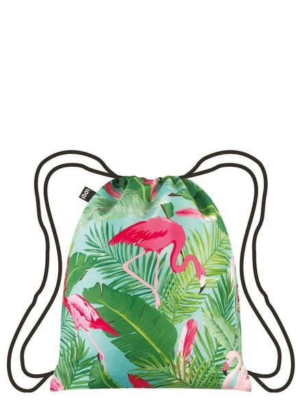 Graphic Giraffes. Fabulous flamingos. Zigzags of zebras. Wander with eyes wide open into the wonderful world of the #WILD collection with the #Flamingos backpack.
