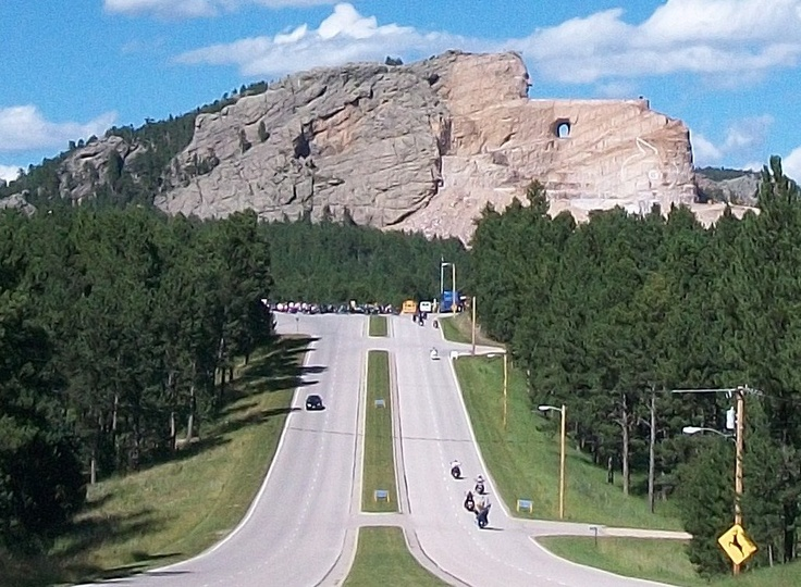 Crazy horse monument completion date in Australia