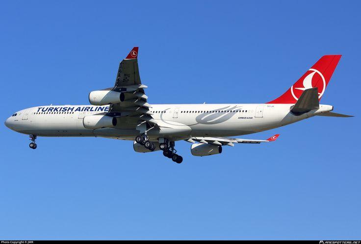 TC-JII Turkish Airlines Airbus A340-313