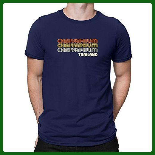 Teeburon Retro Color Chaiyaphum T-Shirt - Retro shirts (*Amazon Partner-Link)