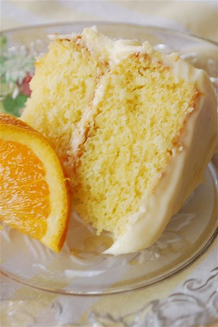 Fresh California Orange Cake ~ Any cake that wins the blue ribbon at the fair has to be good !