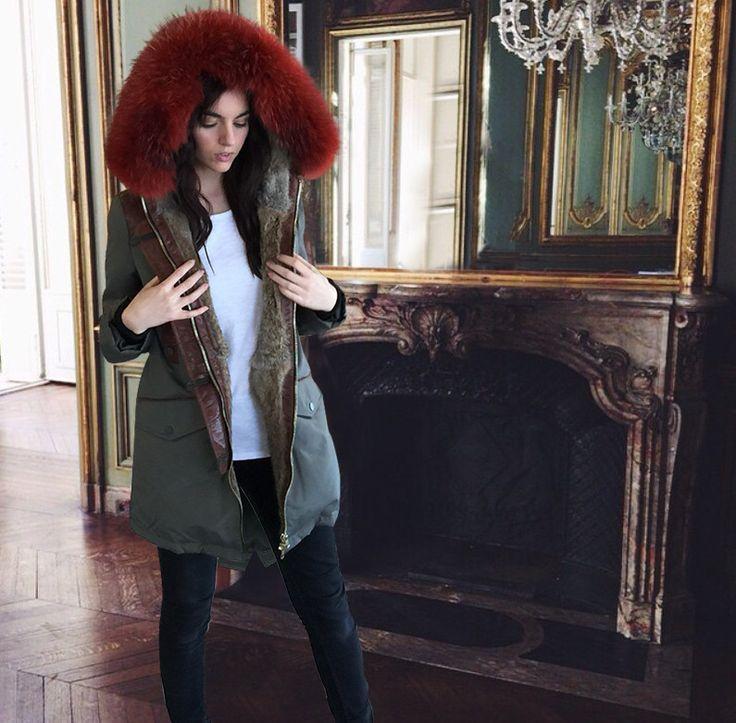 Pre-Order Nicole Benisti Coloured Fur Parka