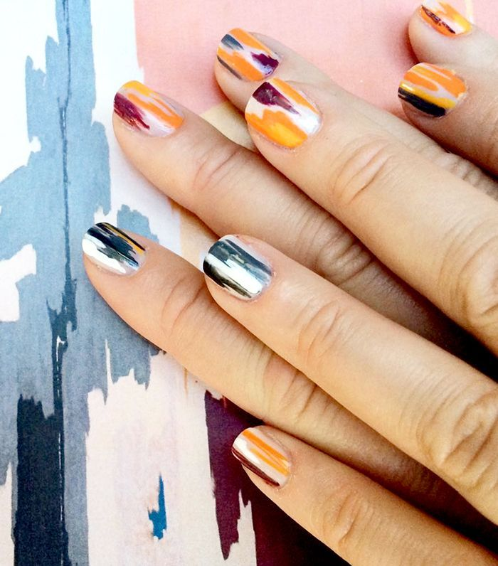 Long nails are pretty, but short nails can be easier to maintain. Click here for the chicest nail designs for short nails.