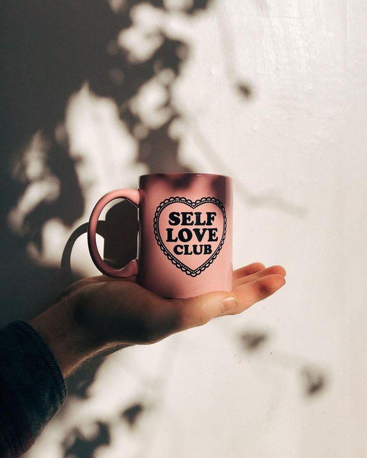 Self Love Club Mug | Home & Gifts|  Kitchen & Bar | Glasses & Mugs @uoamsterdam #UOEurope #UrbanOutfittersEU #UOHome