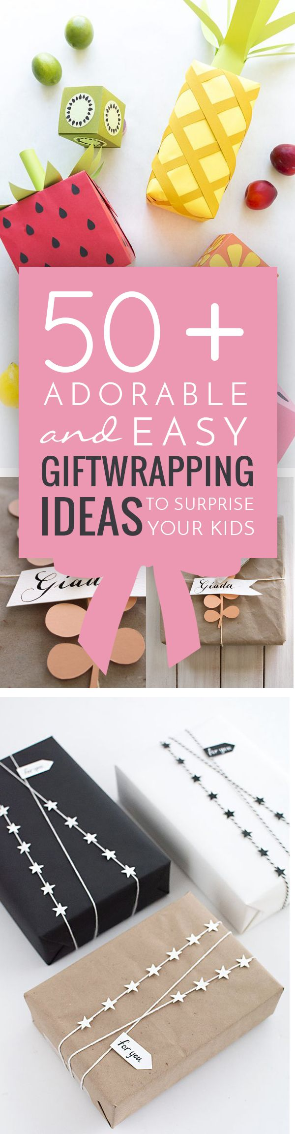 Best 25+ Creative gift wrapping ideas on Pinterest | Creative ...