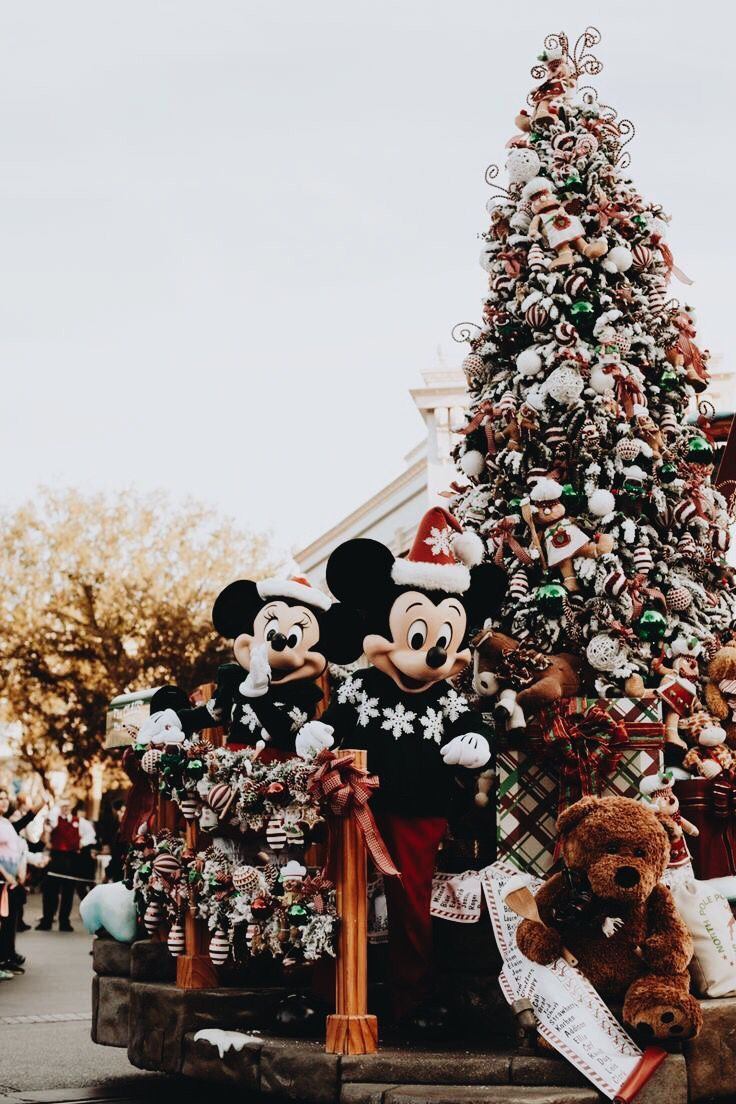 My Favorite Time Of Year In My Favorite Place I Want To Go To Disney For The Holidays Disneyland Christmas Christmas Wallpaper Disney Christmas