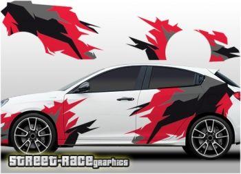 Alfa Romeo Giulietta rally / racing graphics