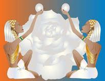 Dúo de Mujeres Egipcias