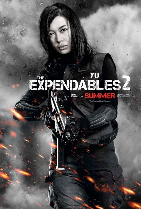 The Expendables 2. Yu