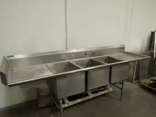 Compartment Stainless Steel Sink Restaurant Equipment Pinterest ...