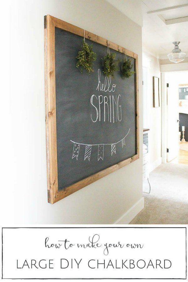 DIY chalkboard Tot 15