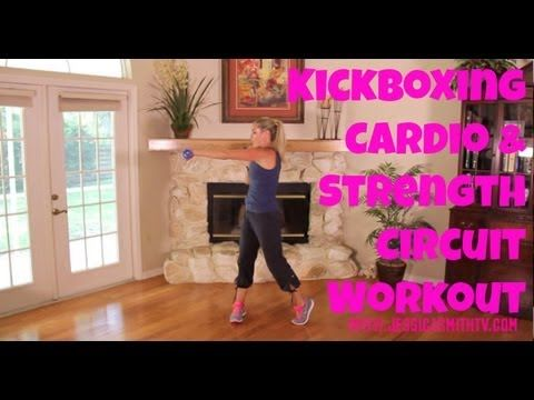 Kickboxing, Kickboxing Classes, Burn Fat, Calories: The Kickboxing Circuit Workout - YouTube