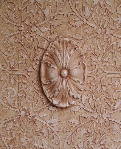 214 Best Images About Paint Stencils Plaster On Pinterest