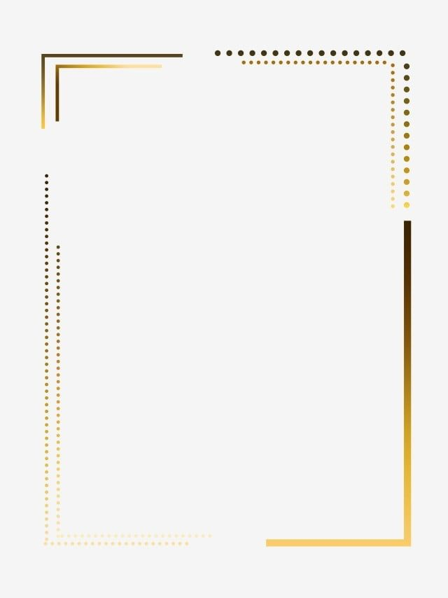 Hot Stamping Simple Year Poster Border Png Download Hot Stamping Frame Texture Golden Gradient Gradient Frame Png Transparent Clipart Image And Psd File For Frame Border Design Page Borders Design