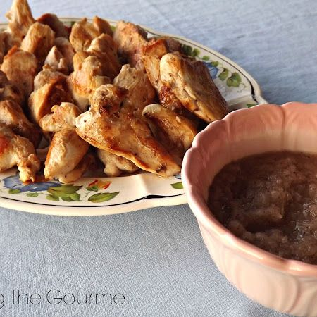 brined chicken breast with sautéed onion dipping sauce brined chicken ...