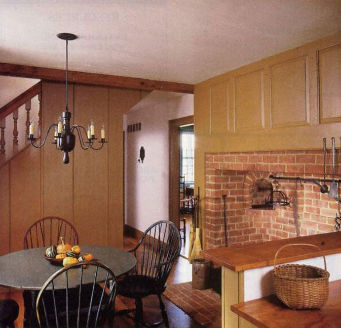 Kitchen Hearth Room Designs: 17 Best Images About Primitive/Colonial Rooms With