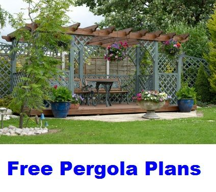 A Nice Selection Of Free Pergola Plans To Help You Build Your Backyard Pergola Or Trellis Project