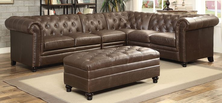 Roy+Sectional+Set+(Brown)
