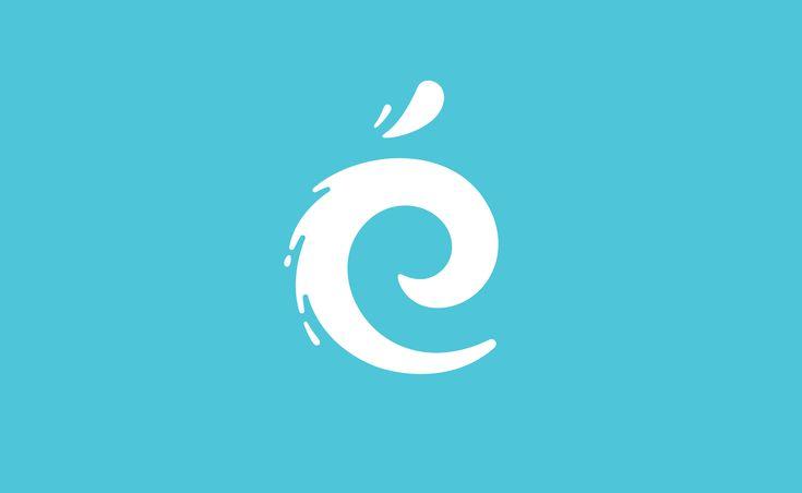 Identité visuelle pour centre aquatique de Noisy-le-Grand. Logo, affiche, plaquette, et bonnet de bain !