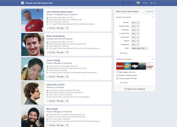 Facebook Details App Discovery In Graph Search