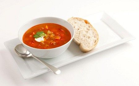 Tandoori vegetable soup