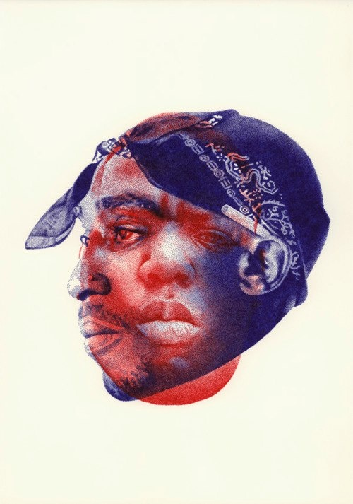 Notorious Big Vs 2Pac | Graphisme&Design | Pinterest