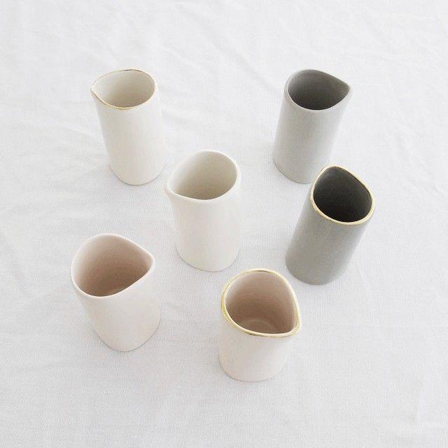 Ceramics Milk Jugs Handmade Ceramics Jugs Ceramics