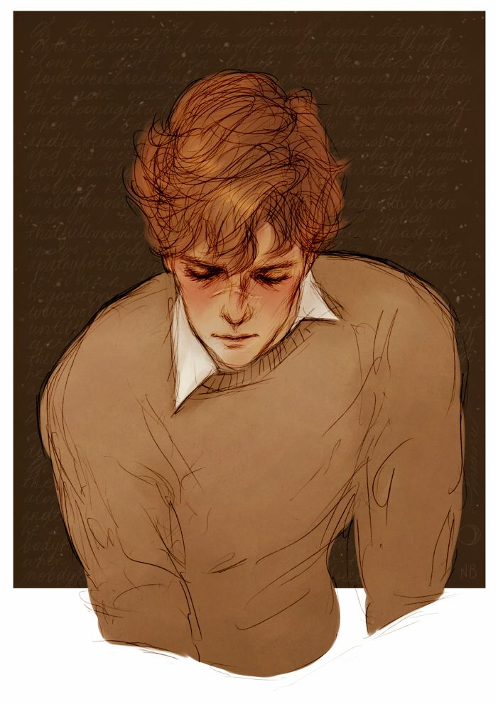 Remus lupine by atalienart on tumblr                                                                                                                                                                                 Más