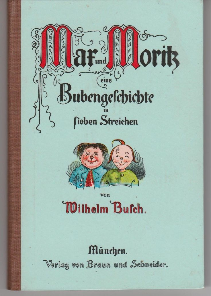ALTES MAX UND MORITZ BUCH 1959 | eBay