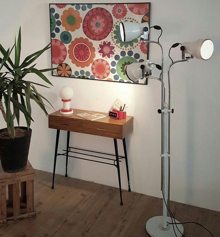 Lámpara vintage de pie