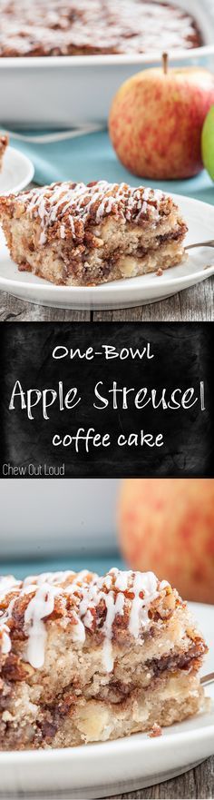 Recipe for one bowl apple cake