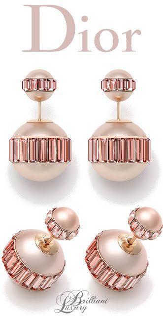 Brilliant Luxury Dior Earrings   www.bocadolobo.com/ #luxurybrands #luxurylifestyle #exclusive