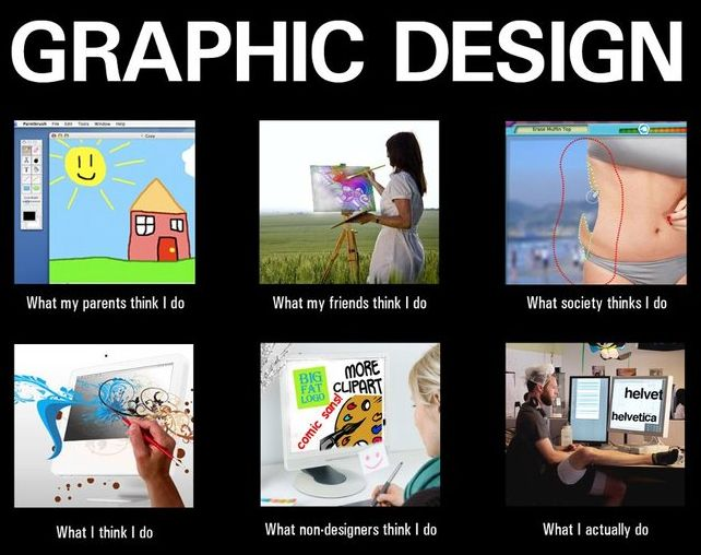 hahaha, I knew I'd see one of these one day. The non-designers one is the best!