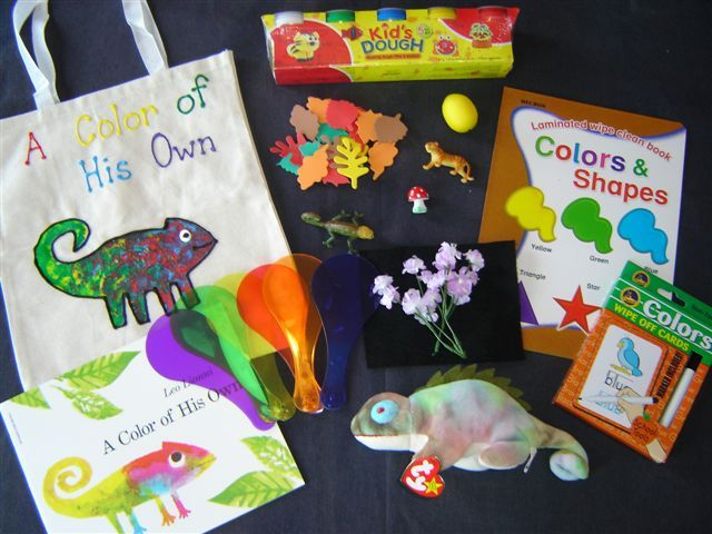 Color of his own literacy bag
