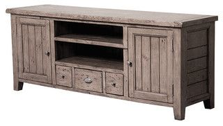 Irish Coast TV Console 3 Drawer/2 Door, by Four Hands - traditional - media storage -  - by Masins Furniture